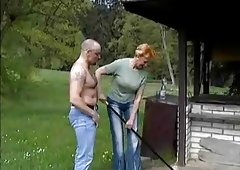 Wench granny with nice boobs & ally