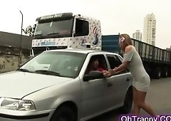 Hot Tranny Adult Trailers Streaming. Huge Tits & Huge Purple Pole Tranny