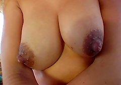 Banging van picks up hawt blondie with big round nipples