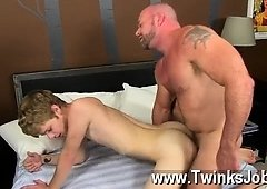 Raunchy homosexual Check it out as Anthony Evans shoots his jism flow