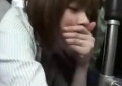 horny girl likes banged by bus passenger