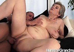 juicy granny snatch pounded