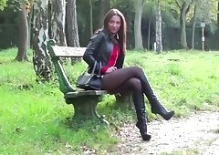 Femdom High Quality XXX Episodes Online. Legal Age Teenager Dommes Play Xmas Games With Their Sub