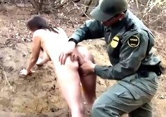 Sexy blonde tits hd Mexican border patrol agent has his