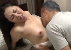 Adorable Japanese MILF with lengthy hair getting kissed in advance of being hammered doggystyle