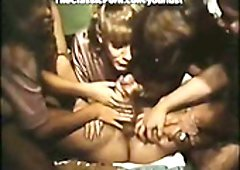 Candida Royalle, Lisa De Leeuw, Ian MacGregor having avid sex in the prison