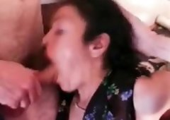 Aged Whore Being Double Penetrated