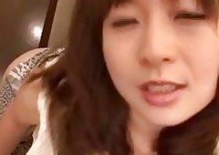 Spunk in mouth for hard tool sucking Nozomi Hazuki